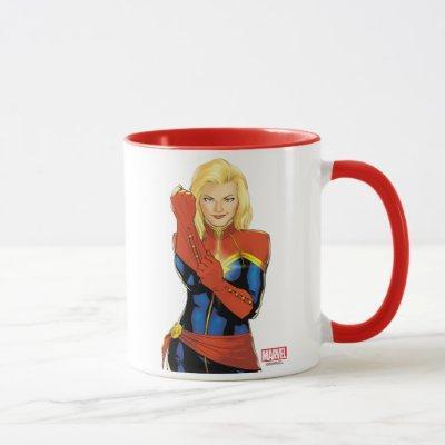 Captain Marvel Fitting Glove Mug