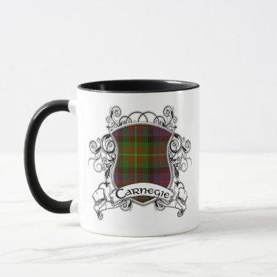 Carnegie Tartan Shield Mug