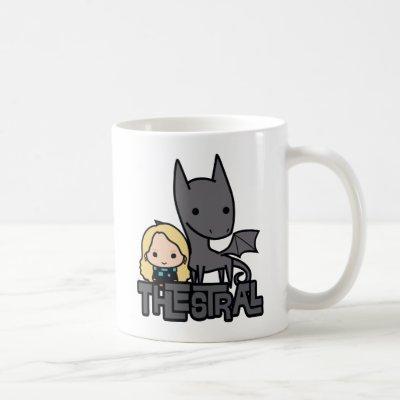 Cartoon Thestral and Luna Character Art Coffee Mug