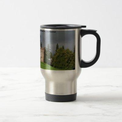 CASTLE LEOD - Scotland MacKenzie Clan Travel Mug
