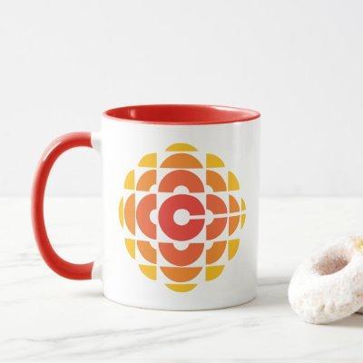 CBC 1974 Logo - Ringer Mug