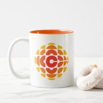 CBC 1974 Logo Two-Tone Coffee Mug