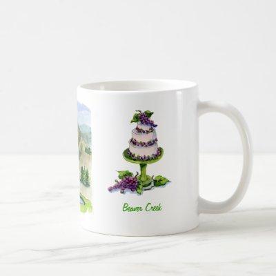 cekebrating in Beaver Creed Coffee Mug