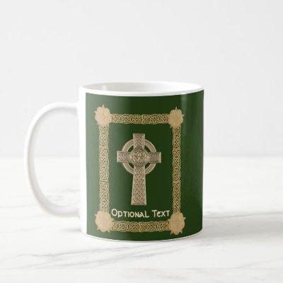 Celtic Cross Custom Coffee Mug