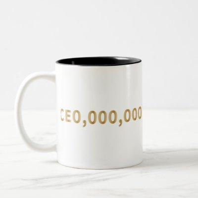 CEO gift Two-Tone Coffee Mug
