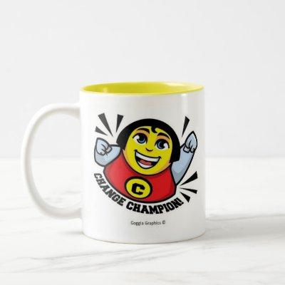 Change Champion Mug Yellow Inside