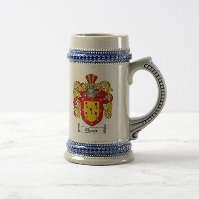 Chavez Coat of Arms Stein / Chavez Family Crest