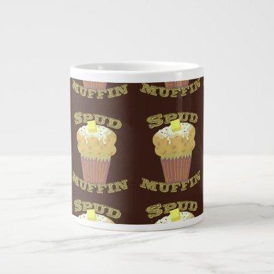 Check Out The Spud Muffins Giant Coffee Mug
