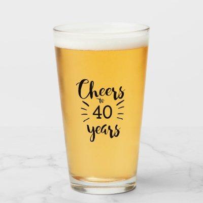 Cheers to 40 years glass