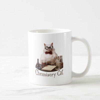 Chemistry Cat (from 9gag memes reddit) Coffee Mug