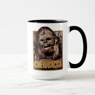 Chewbacca Badge Mug