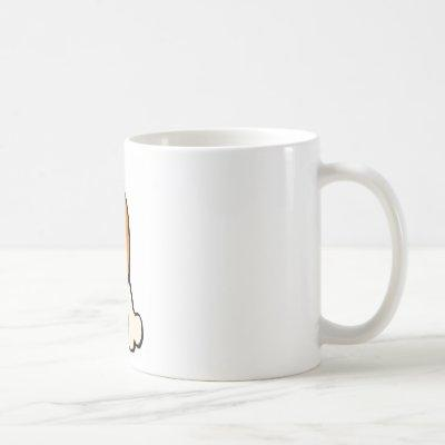 Chicken leg coffee mug