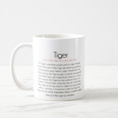 Chinese Zodiac (Year of the Tiger) 2 Coffee Mug