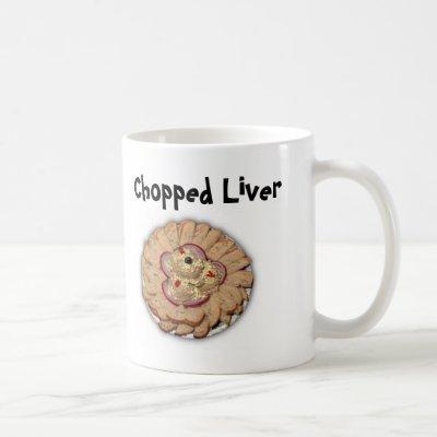 Chopped_Liver_Platter, Chopped Liver Coffee Mug