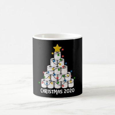 Christmas Toilet Paper Tree Funny Gift Coffee Mug