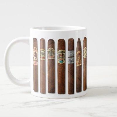 Cigar Rows // Large Coffee Mug