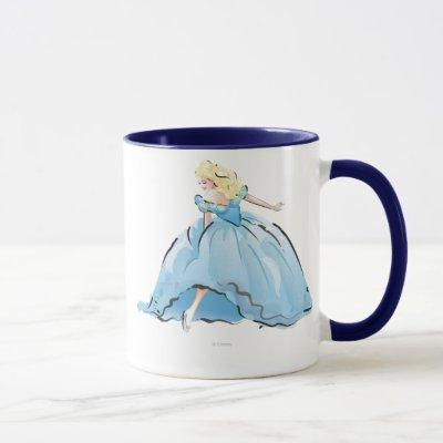 Cinderella And Her Glass Shoe Mug