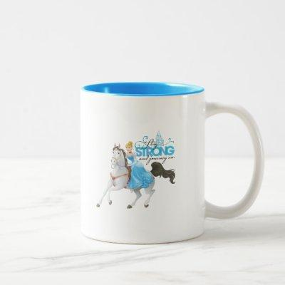 Cinderella   Stay Strong And Journey On Two-Tone Coffee Mug