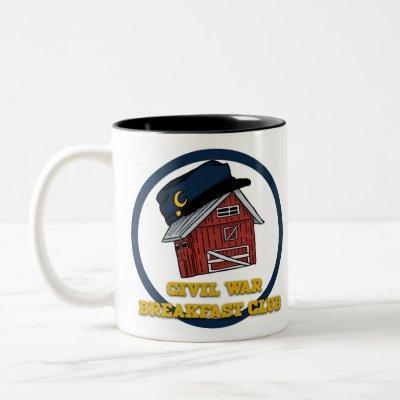 Civil War Breakfast Club Logo Mug