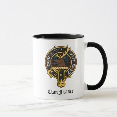 Clan Fraser Crest Mug