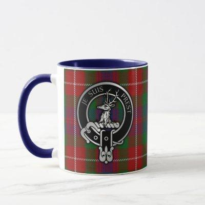 Clan Fraser of Lovat Crest & Tartan Mug