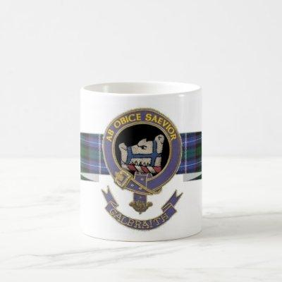 Clan Galbraith mug - Banner