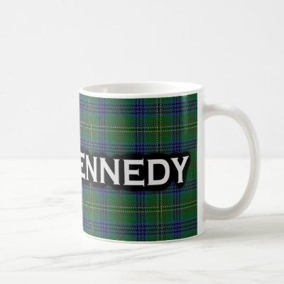 Clan Kennedy Tartan Scottish Coffee Mug