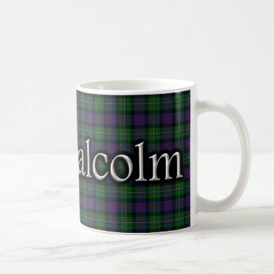 Clan Malcolm Classic Tartan Scottish Coffee Mug