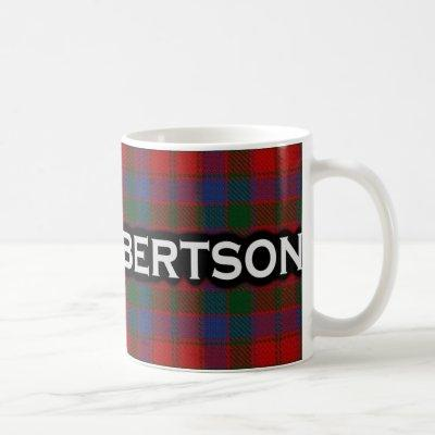 Clan Robertson Tartan Scottish Coffee Mug