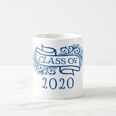 Class of 2020 Custom Year and Colors Graduation Coffee Mug