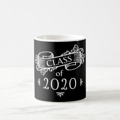 Class of 2020 Custom Year and Colors Graduation Coffee Mug