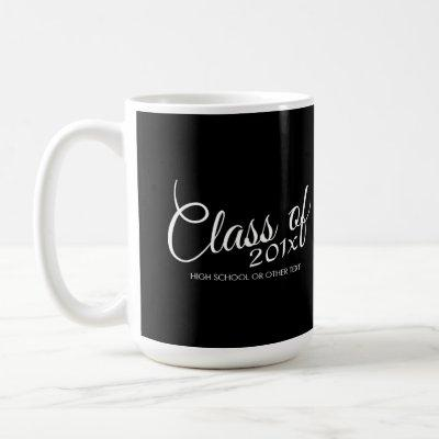 Class of with Custom Year and High School Coffee Mug