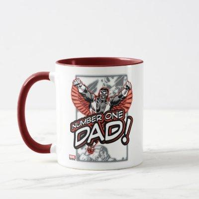 "Classic Falcon ""Number One Dad!"" Mug"