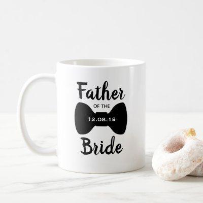 Classic Father of the Bride Bowtie Coffee Mug