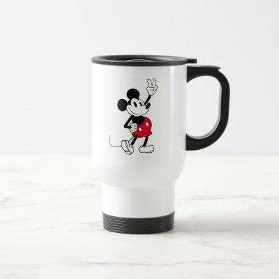 Classic Mickey Mouse   Cool Beyond Years Travel Mug