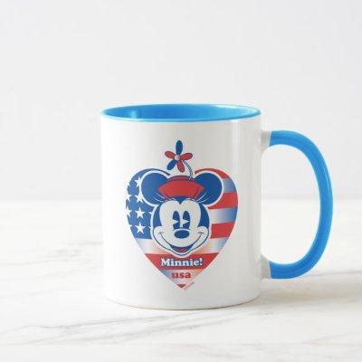 Classic Minnie | Patriotic Mug