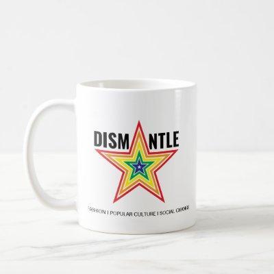 Classic Mug with Dismantle Logo