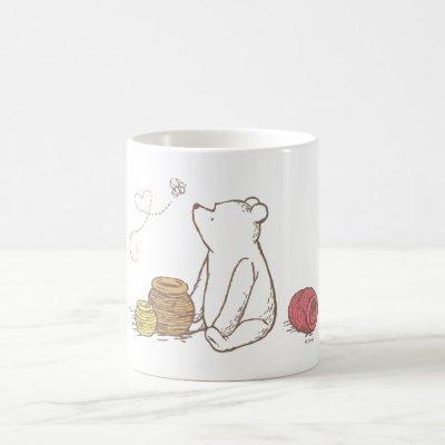 Classic Pooh and Honey Pots Coffee Mug