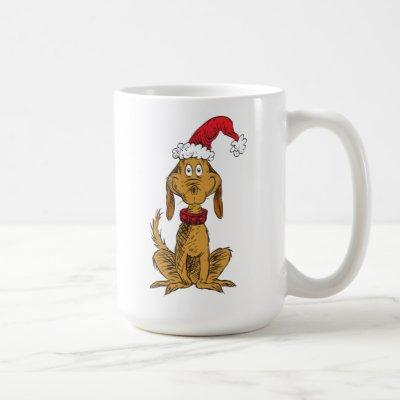Classic The Grinch | Max - Santa Hat Coffee Mug