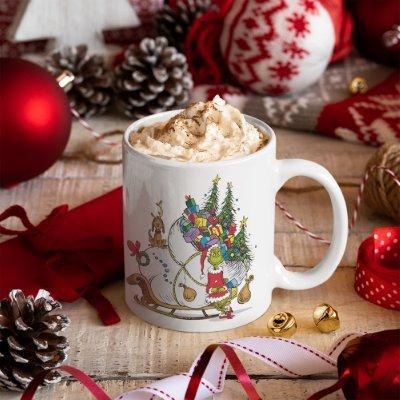Classic The Grinch | The Grinch & Max Runaway Slei Coffee Mug