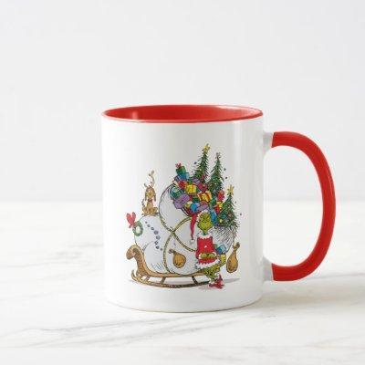 Classic The Grinch | The Grinch & Max Runaway Slei Mug