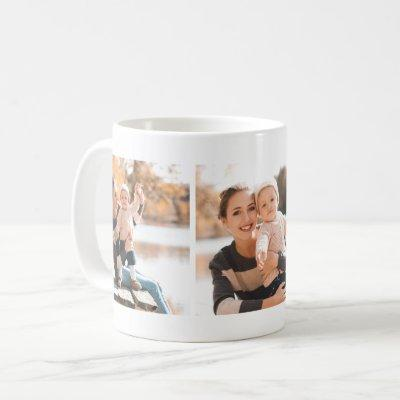 Classic Three Photo Collage Mug