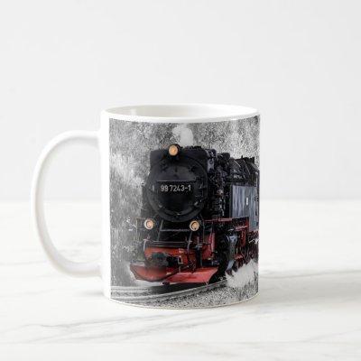 Classic Vintage Steam Engine Train 997243-1 Coffee Mug