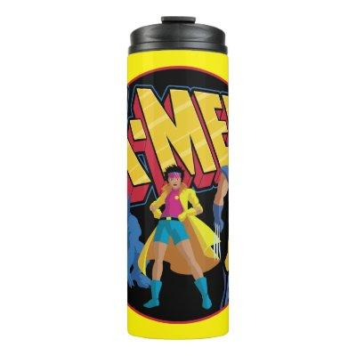 Classic X-Men | Beast, Jubilee, & Wolverine Icon Thermal Tumbler