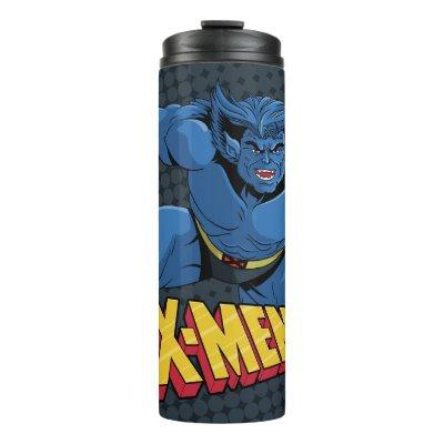Classic X-Men | Beast Three-Point Landing Thermal Tumbler