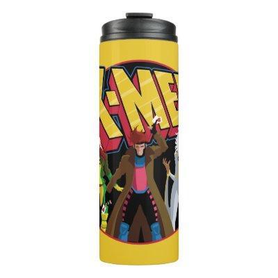 Classic X-Men | Rogue, Gambit, & Storm Icon Thermal Tumbler