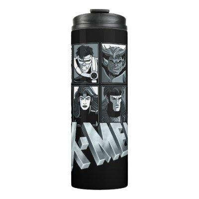 Classic X-Men | Silver Team Roster Thermal Tumbler