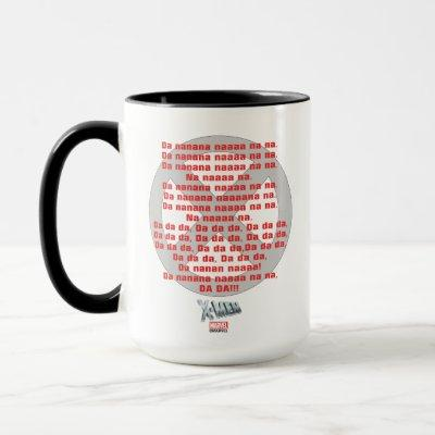 Classic X-Men | Theme Song Graphic Mug
