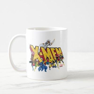 Classic X-Men | X-Men Character Pattern Coffee Mug