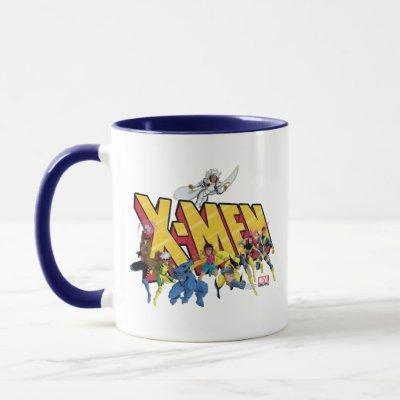 Classic X-Men | X-Men Character Pattern Mug